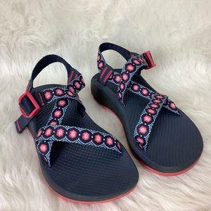 Chaco Pink Blue Z Cloud Sandal